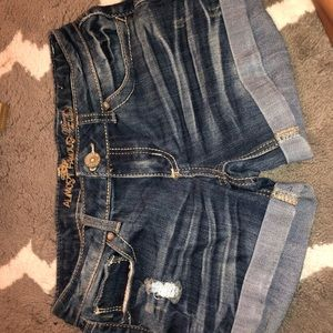 Almost Famous Blue Jean Shorts